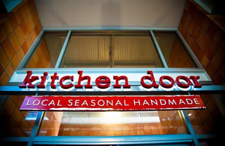 Kitchen Door in Oxbow Market