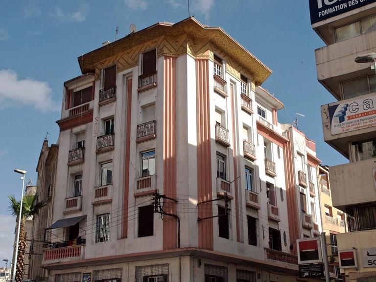 One of Casablanca's many Art Deco buildings