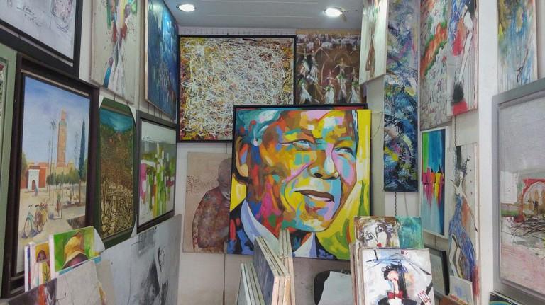 Eye-catching art at Vosarts