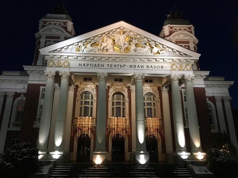 National Theater Ivan Vazov in Sofia