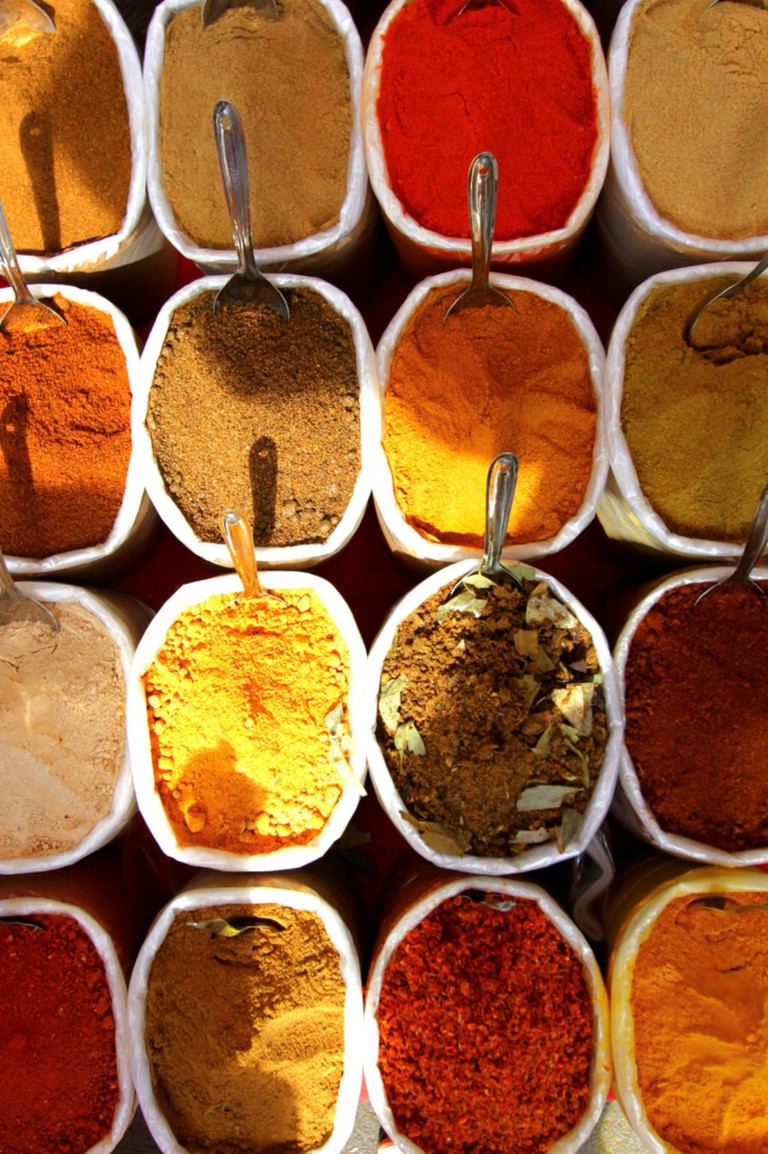 Goan Spices at Panjim Market