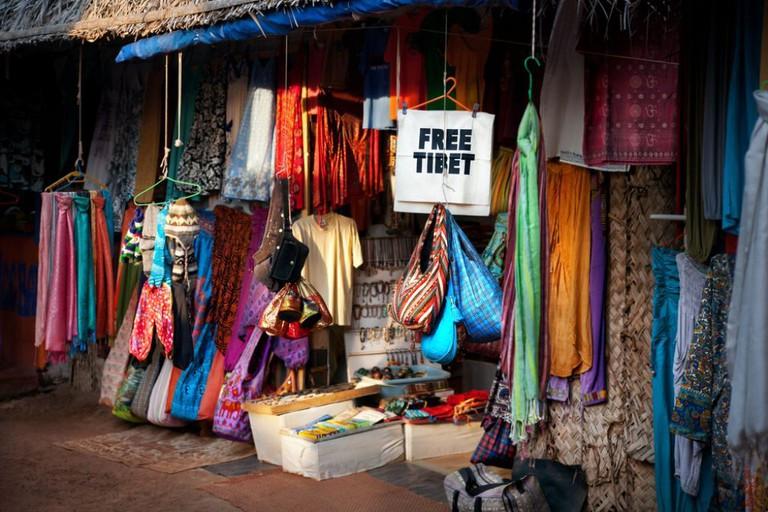 Tibetan Market Goa
