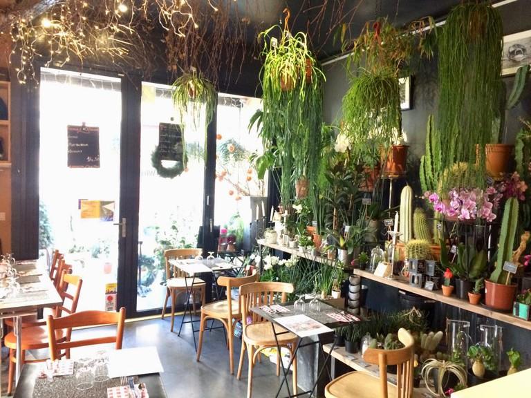 Café and florist