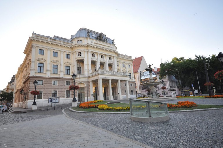 The historic Old Building of the Slovak National Theatre