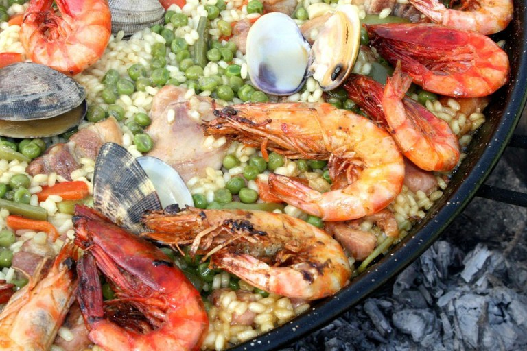 Rice with seafood recipes are popular across the Iberian Peninsula.
