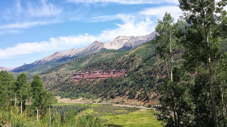 Hiking the Telluride Trail