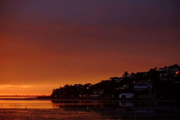 Sunrise over Mt Pleasant, Canterbury
