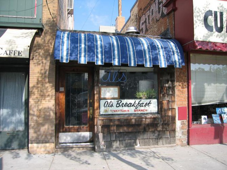 Exterior of Al's Breakfast