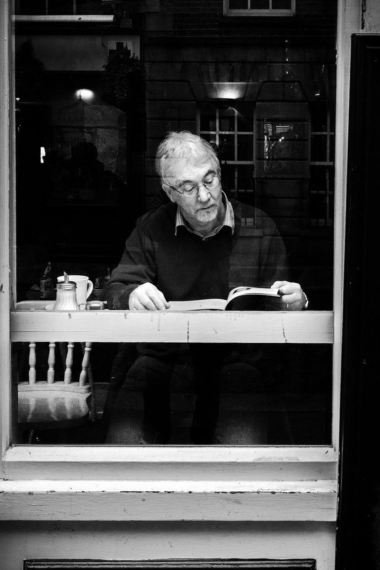Buy a coffee and read through all the fantastic books