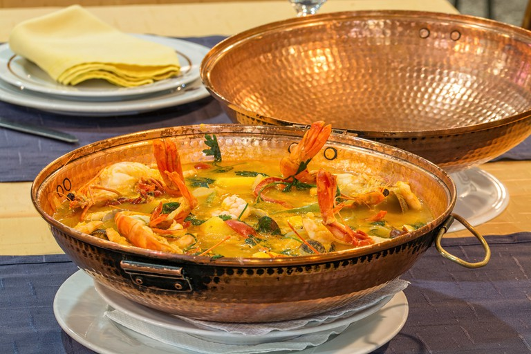 Trying the Cataplana dish is a must while visiting Algarves beach bars and restaurants