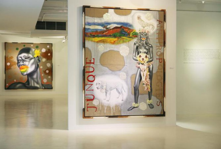 Ashley Bickerton, Junk Anthropologies, Gajah Gallery, 2014
