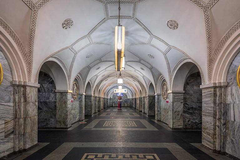 Park Kultury Station of Moscow Subway