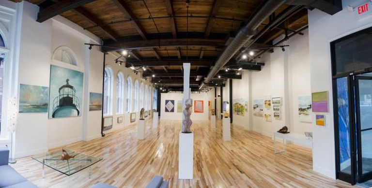 Portland Art Gallery Interior