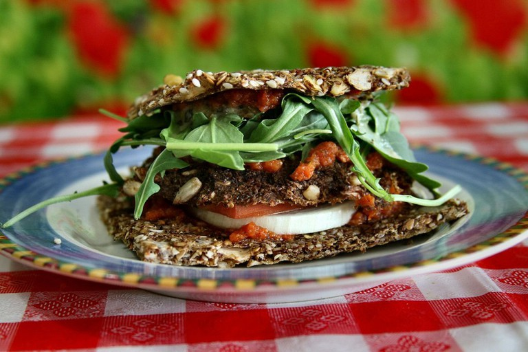 Raw Vegan Patty