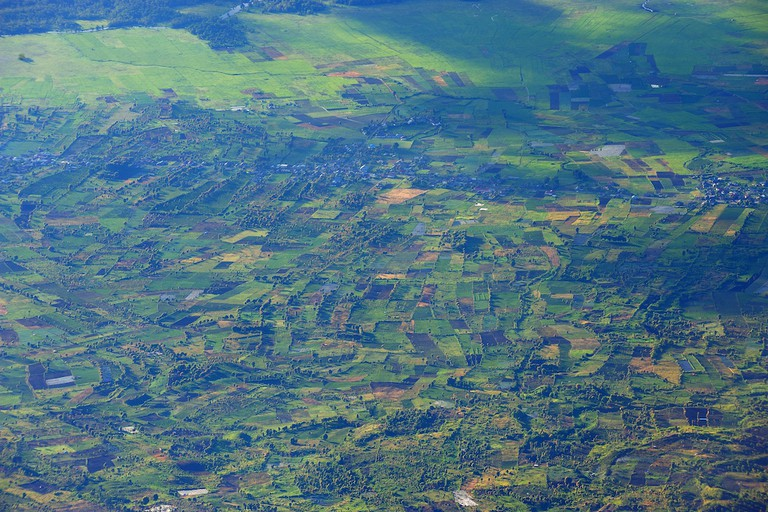 View from Mount Kerinci