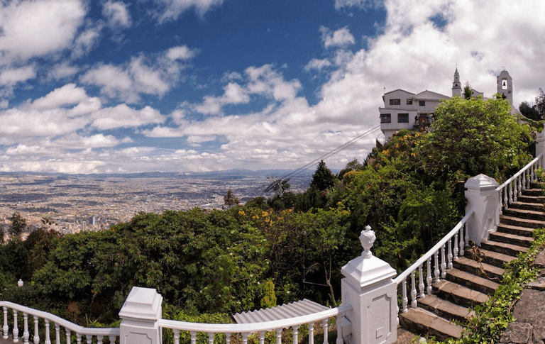 Monserrate – a grandiose mountain donned with a catholic church