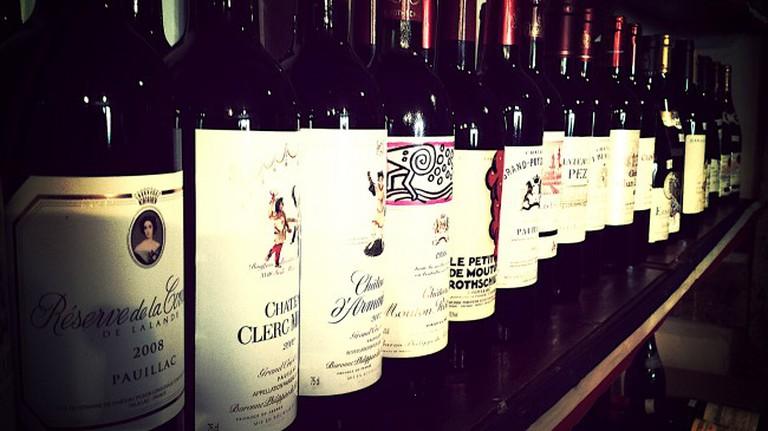 Range of wines