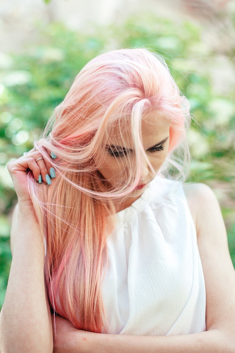 Try a bold new hair color during your next visit in the Algarve