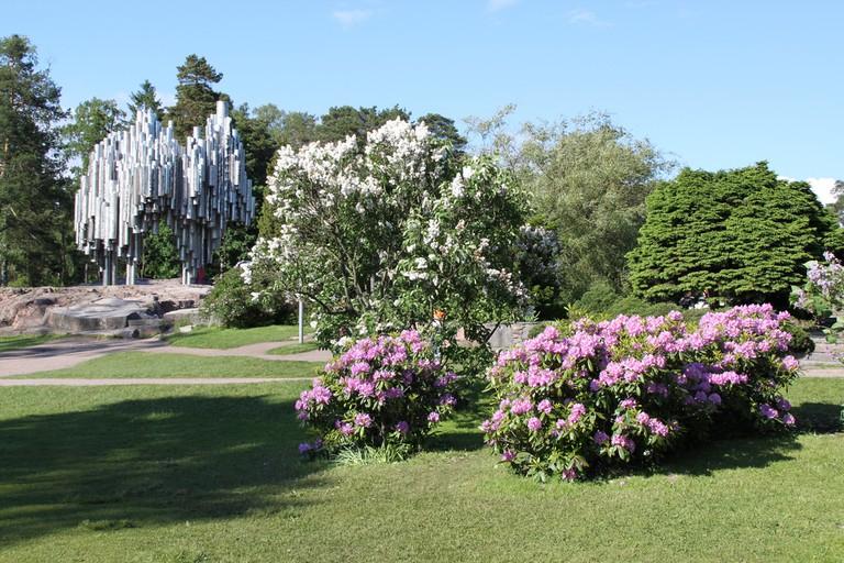 Monument at Sibelius Park
