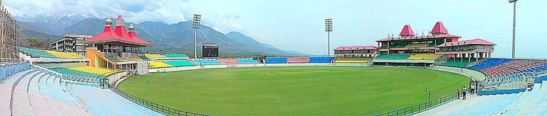 A panorama of HPCA Stadium