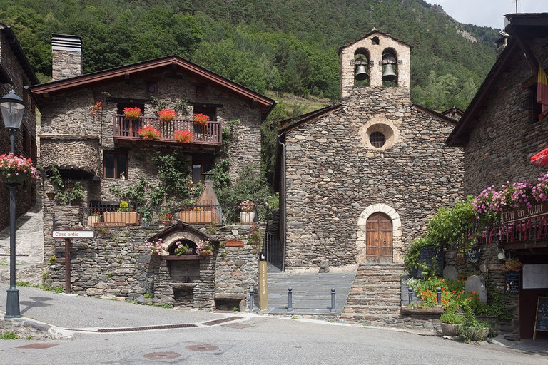 Sant Serní de Llorts, Ordino, Andorra
