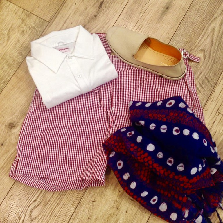 A summer look for men at a.Copola store
