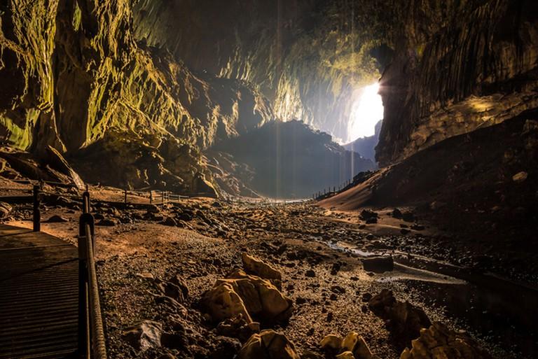 Bat Cave in Borneo
