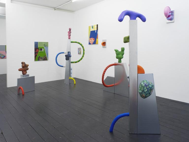 Installation view at l'étrangère