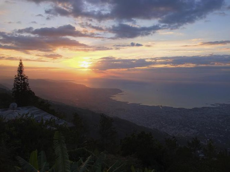 Sunset from Observatoire