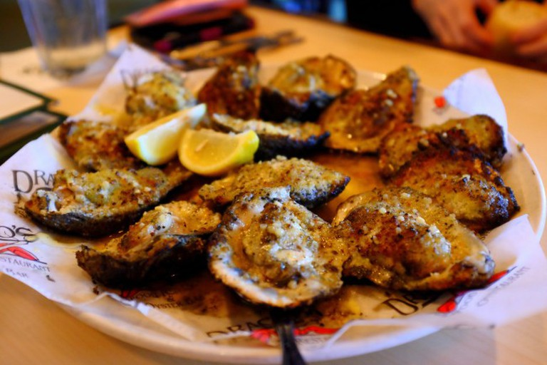Drago's Grilled Oysters