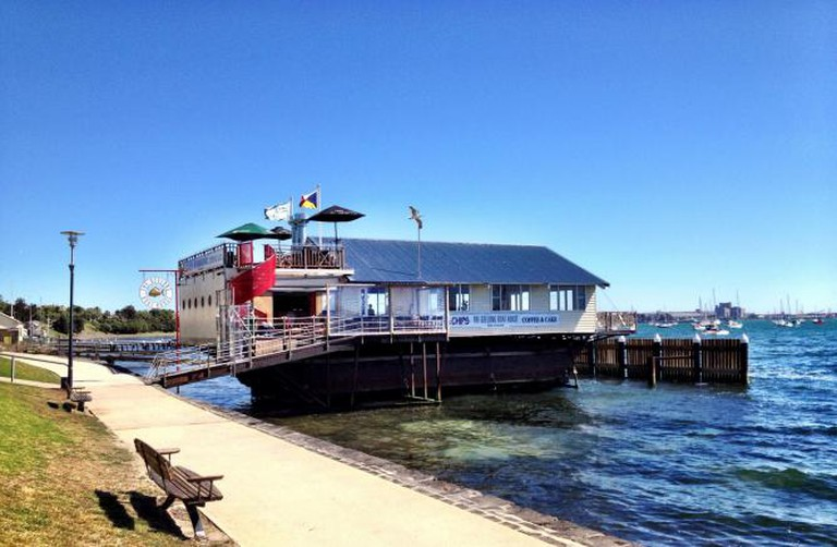Exterior of the Geelong Boat House
