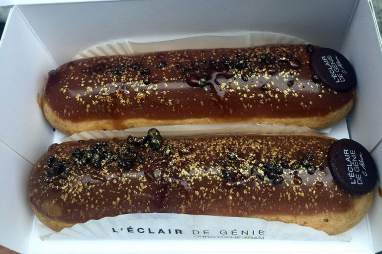 Salted Caramel Eclairs at L'éclair de Génie, Paris