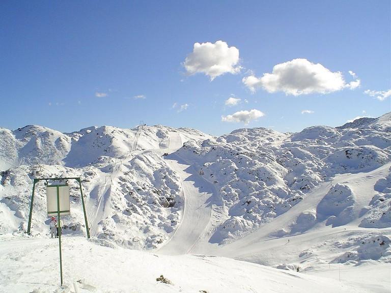 Enjoy a winter wonderland at Vogel Ski Resort