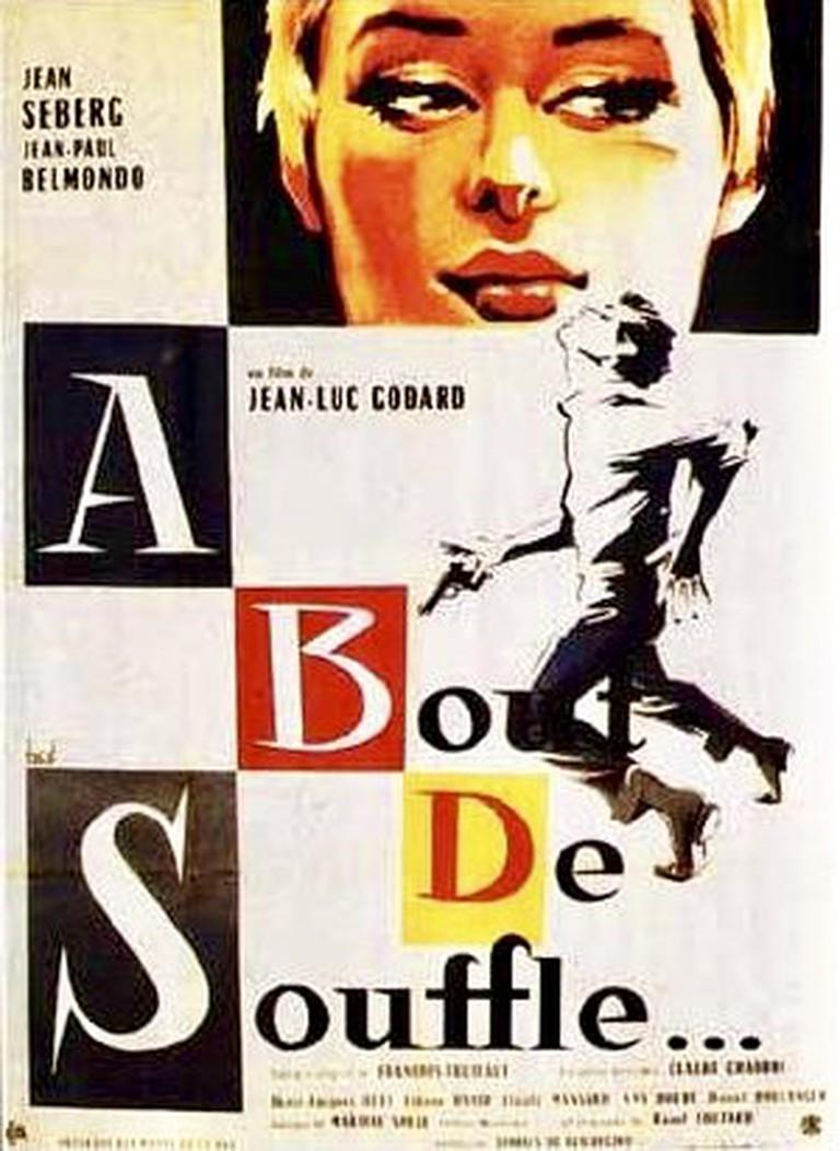 A Bout de Souffle original release poster