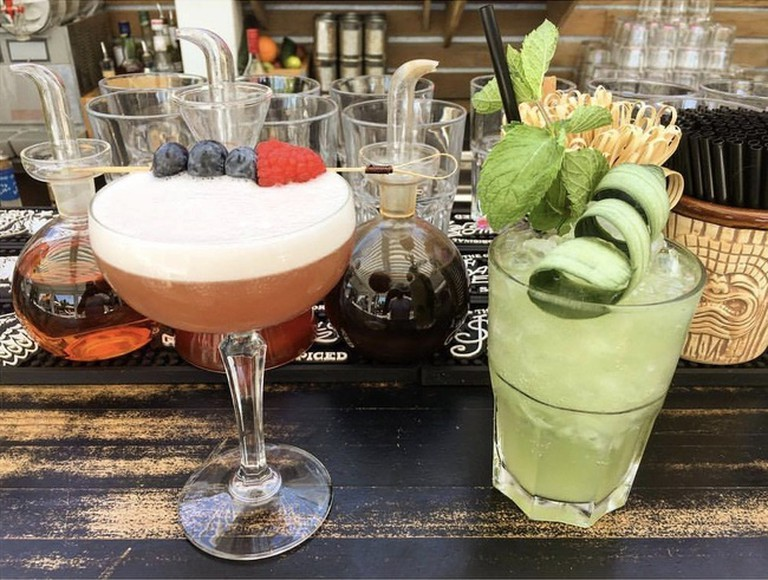 Drink some amazing cocktails at The Beach House