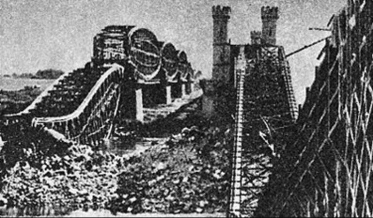 The Second World War started here, on Most Tczewski (Tczew Bridge)