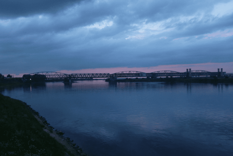 Sunset in Tczew