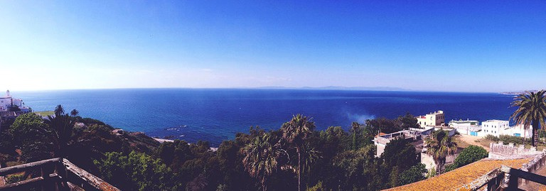 Panoramic view from Tangier