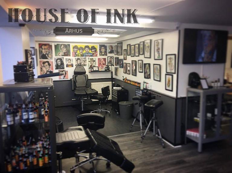 House of Ink Aarhus - Prisvindende tatovør, Tattoo, Piercing