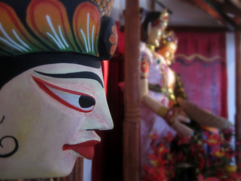 The puppets at the Puppet Museum tell stories of Sri Lankan Cultural Heritage