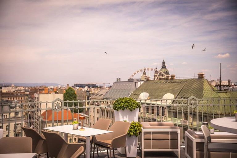 St Andrea Wine & Skybar, Budapest