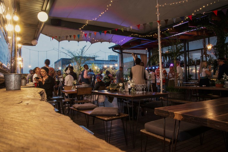 If not booked for a private function, Saturday evenings at Living Room are usually themed