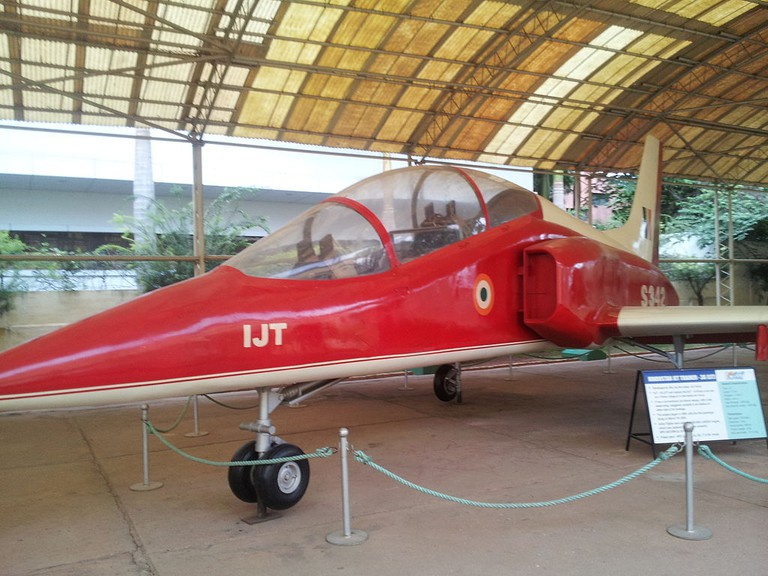 Jet Fighter at HAL Aerospace Museum