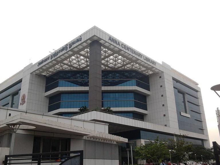 Anna Centenary Library (ACL) at Kotturpuram, Chennai