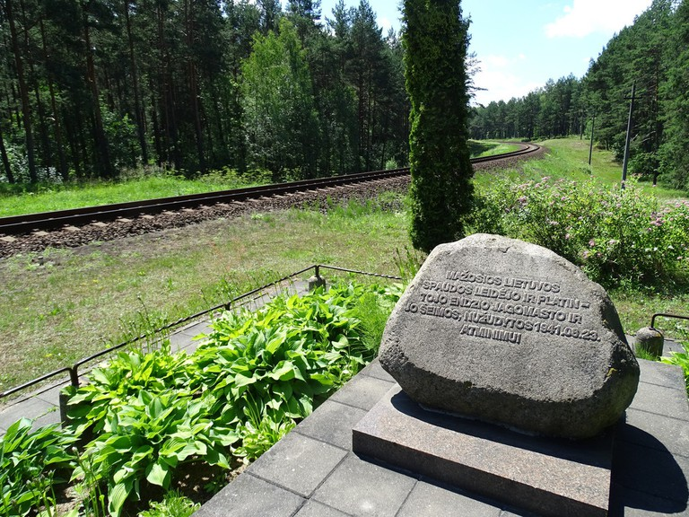 Memorial to Jewish Holocaust - Paneriai