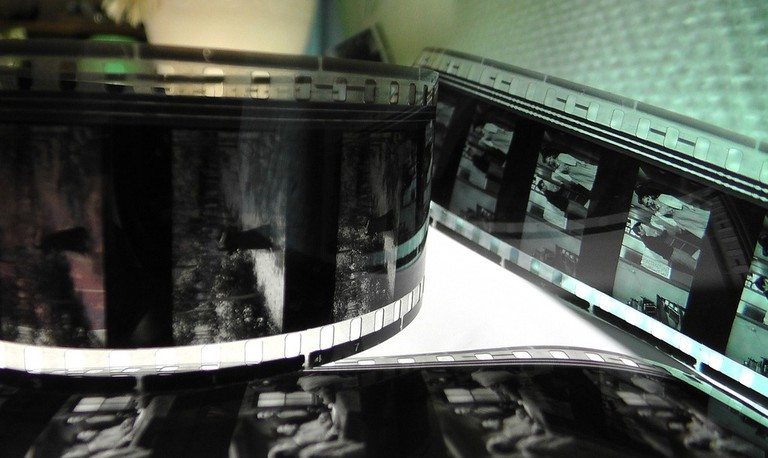 Cinema Projector Film