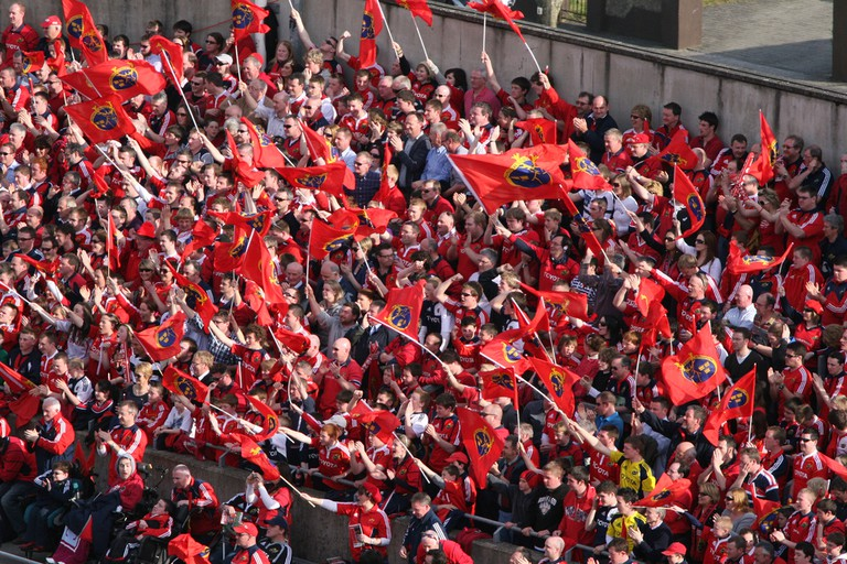 Crowd at Thomond Park