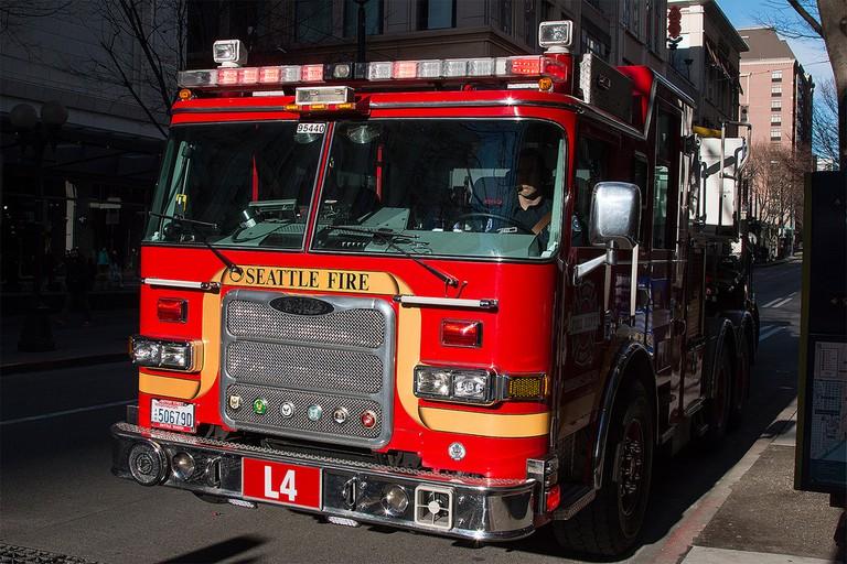 Seattle Fire Department Truck