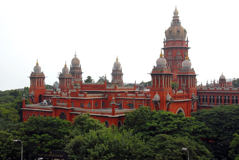 The Madras High Court Complex is one of the best examples of the Indo-Saracenic style of architecture