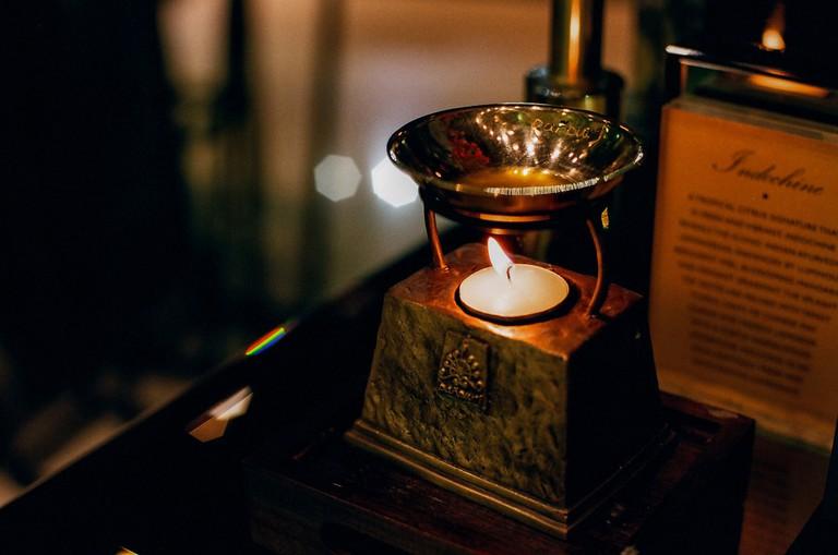 Aromatic oil in Panpuri